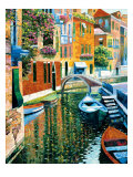 Romantic Canal Giclee Print by Howard Behrens