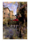 Provence in a Morning, France Lámina giclée por Nicolas Hugo