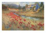 Villa d'Umbria Prints by Ruth Baderian