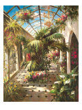 Garden Atrium ll Poster by Vera Oxley