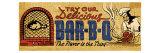 Retro Diner BBQ Affiches
