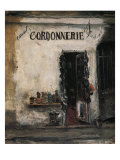 Shoemaker&#39;s Shop, Paris Giclee Print by Yuzo Saeki