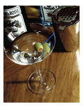 A Perfect Martini Giclee Print by Steve Ash