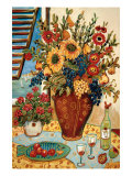 Flowers by the Window Prints by Suzanne Etienne