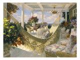 Summer Veranda Premium Giclee Print by  Benjamin