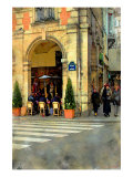 Place de Vosges, Paris, France Giclee Print by Nicolas Hugo