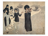 Arrival of Christianity Giclee Print by Yumeji Takehisa