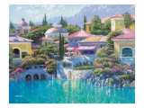 Lago Bellagio Giclee Print by Howard Behrens