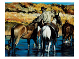 Come Over Premium Giclee Print by Paul Van Ginkel