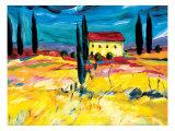 Provence Impression II Art by Natasha Barnes