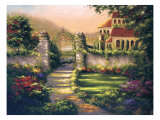 Secret Gardens II Giclee Print by J. Martin