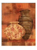 Patterned Urn II Prints by Lisa Ven Vertloh