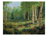 Aspen Meadow Premium Giclee Print by Roger Williams