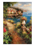 Marina View I Premium Giclee Print by Peter Bell