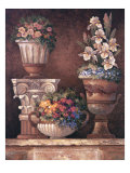 Victorian Blossoms II Premium Giclee Print by James Lee