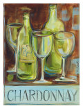 Chardonnay Poster by Jennifer Sosik