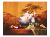 Oriental Apple Reproduction procédé giclée par Art Fronckowiak