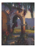Ombres de la mission Reproduction proc&#233;d&#233; gicl&#233;e par Brian Blood