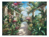 Garden Charm Giclee Print by James Reed