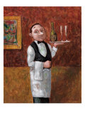 Sommelier II Giclee Print by John Howard