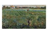 Lambard Landscape Giclee Print by Umberto Boccioni