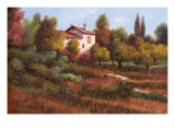 La Casa Nel Bosco Art by Guido Borelli