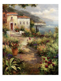 Villa's Garden Path Prints by Peter Bell