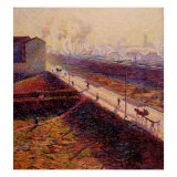 Morning Giclee Print by Umberto Boccioni