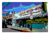 Liquor Beer Wine, Venice Beach, California Giclee Print by Steve Ash