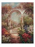 Fiorenza's Garden Premium Giclée-tryk af James Reed