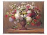 Angelina's Flowers I Premium Giclee Print by  Welby