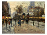 Early Evening in Montrachet Giclee Print by Hovely