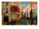 Au Petit Moulin, Paris, France Giclee Print by Nicolas Hugo
