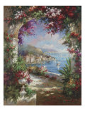 Floral Vista Giclee Print by Jerome 