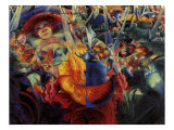 The Laugh Giclee Print by Umberto Boccioni