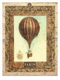 Vintage Hot Air Balloon I Giclee Print by Miles Graff