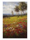 Wildflowers Print by  Hulsey