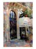 Nicolas Hugo - Cafe de Flore, Paris, France Digitálně vytištěná reprodukce