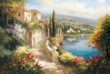 Casa dell&#39;Oceano Giclee Print by Paline 