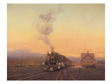 Arrival of the 472 Giclee Print by Raymond Knaub