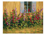 Blue Shutters Premium Giclee Print by Roger Williams