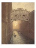 Venice Ambiance Premium Giclee Print by Raymond Knaub