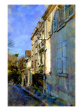 Hillside Windows, Paris, France Giclee Print by Nicolas Hugo