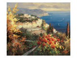 Mediterranean Seascape Prints by Peter Bell