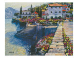 Stairway to Carlotta Giclee Print by Howard Behrens