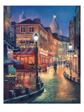 Night Stroll Prints by Sung Kim