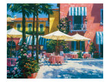 Inn at Lake Garda Giclee Print by Howard Behrens