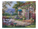 Spring Patio II Giclee Print by Sung Kim