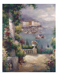 Capri Vista I Print by Peter Bell