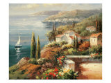 Mediterranean Vista Prints by Peter Bell